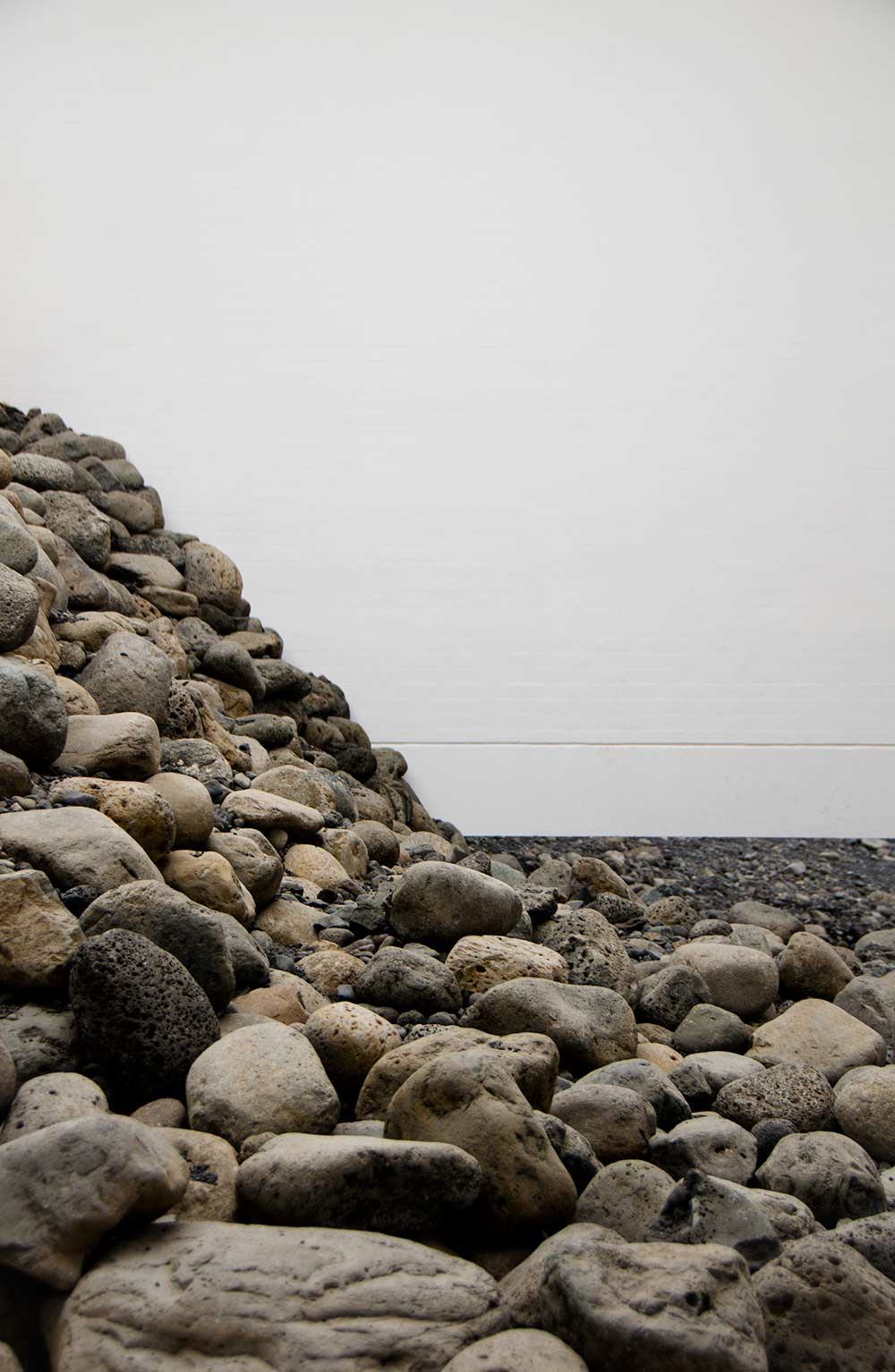 Olafur Eliassons - Riverbed installation