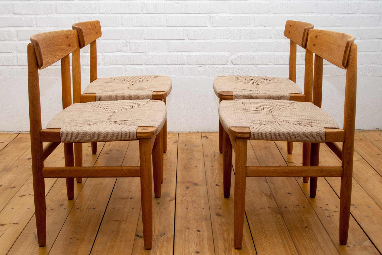 Borge Mogensen Oresund Dining Chairs Sold