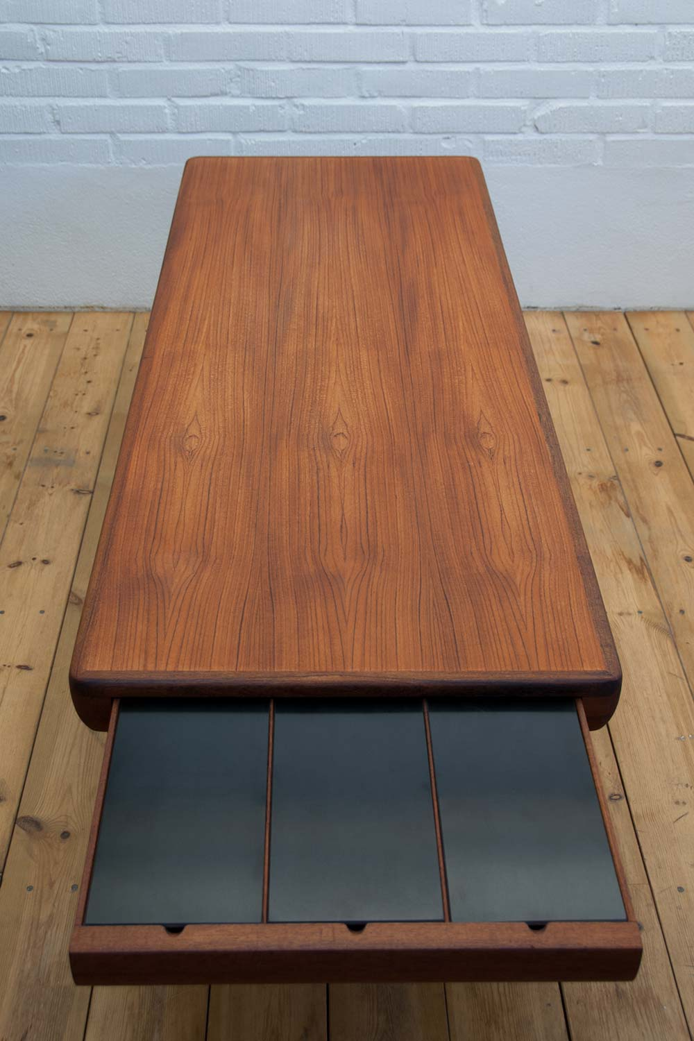 Johannes Andersen Teak coffee table - Scandinavian Design ...