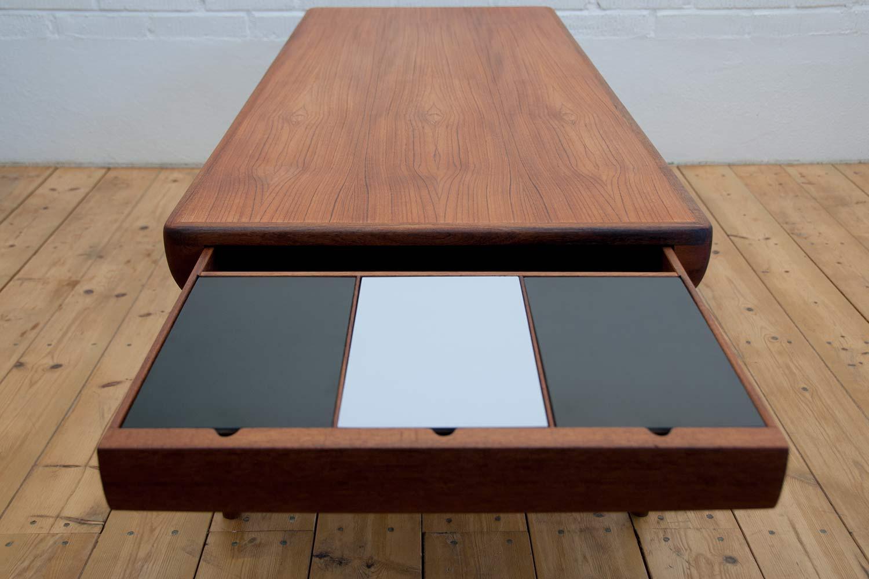 Johannes Andersen Teak Coffee Table Scandinavian Design