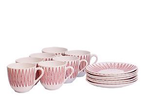 Stig Lindberg- Salix- Cups