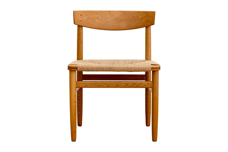 Borge Mogensen Oresund Dining Chairs Scandinavian